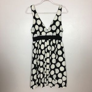 Twenty One Women's Polkadot Black/White Dress Sz S